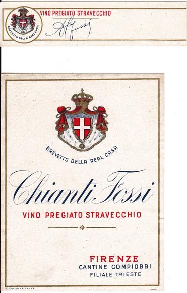 Chianti Fossi (vino pregiato stravecchio)